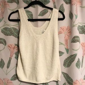 🐏 Madewell sweater tank small